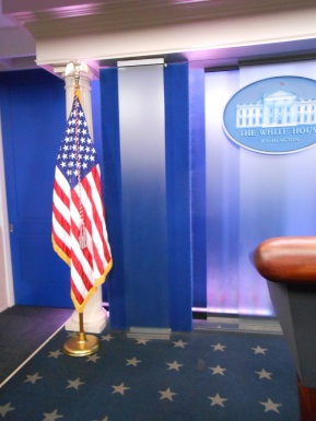 National Press Room in the White House