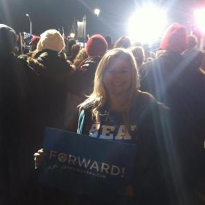 Obama's final campaign rally in Des Moines was my first experience hearing President Obama speak live