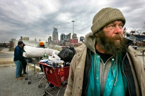 Homelessness in the US is still a burining problem in US politicstaken from blog revolutuion
