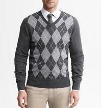 Banana Republic. Sweater - $79.50. Shirt - $79.50.
