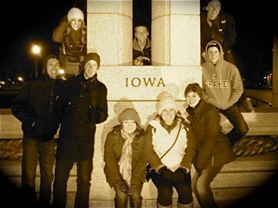 We found Iowa!!!!!
