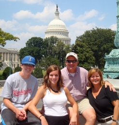 My first trip to DC with my family!