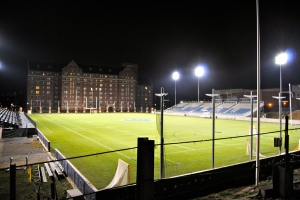 Football Field at Georgetown. Photo by Guy Eckman