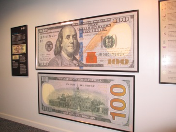 New $100 bills will go into circulation in 2014.