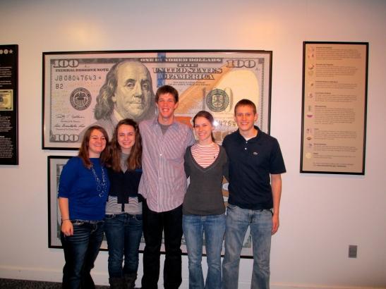 Courtney, Jill, Nate, Abby and Zach.