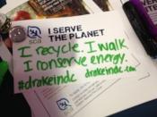 A few ways I already serve the planet. And a shameless plug for our blog!