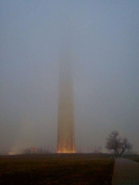 Foggy Night in Foggy Bottom