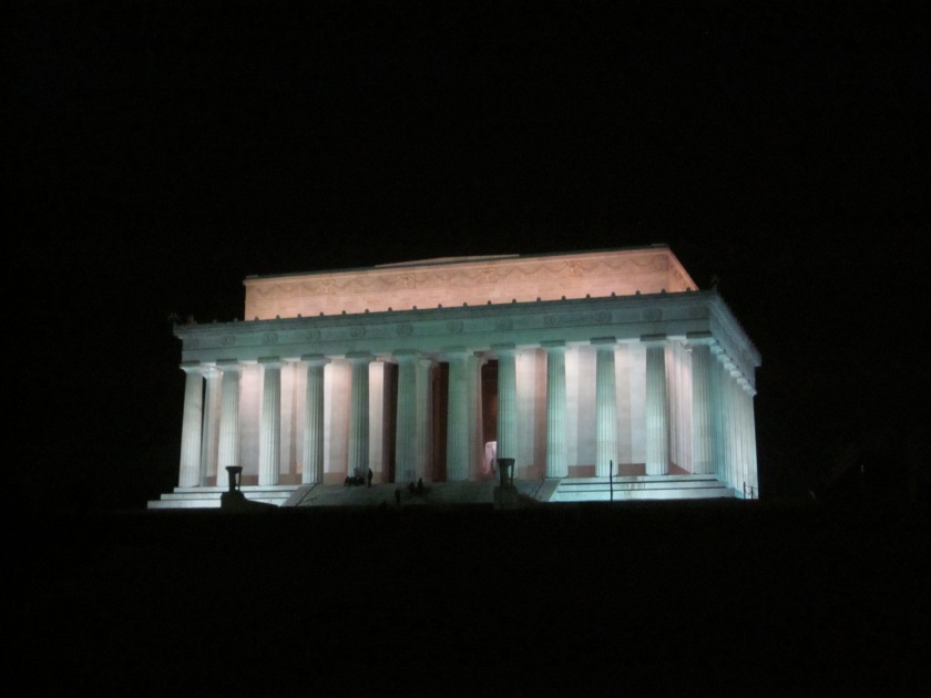 Lincoln Memorial [Photo by Katherine Fritcke]