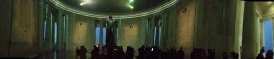 Panorama inside the Memorial