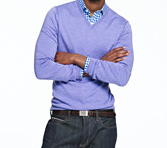 J.Crew. Sweater - $78. Shirt - $69.