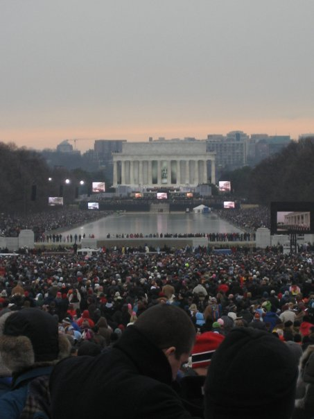 Lincoln Memorial- Inauguration Concert 2009