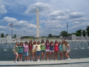 My trip to D.C. my 8th grade year.