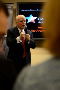 C-SPAN founder and CEO Brian Lamb