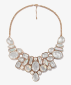 Bejeweled Mesh Necklace at Forever XXI. $14