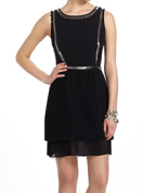 Cleo Pleated Dress at Anthropologie. $258