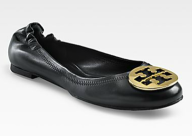 Reva Ballet Flat at Tory Burch. $195