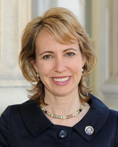 Gabby Giffords was a Congresswoman from Arizona District 8 who was shot in 2011. Photo courtesy of Wikipedia Commons.