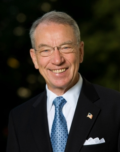 Senator Chuck Grassley from Iowa. Photo courtesy of Wikipedia