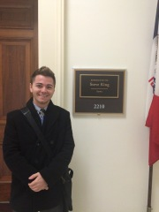Joey Gale at Rep. Steve King's office.