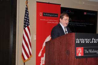 Founder and President of Americans for Tax Reform, Grover Norquist, Photo by Queion Swift