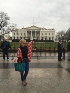 White House selfie.