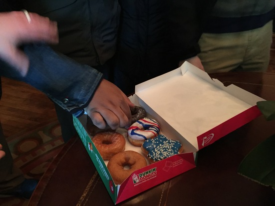 Donuts at the White House.