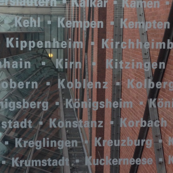 Cities and towns in Europe affected by the Holocaust.