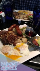 Brunch at Annie's Paramount Steak House in the Dupont Circle neighborhood! | Photo: Annie Hayes