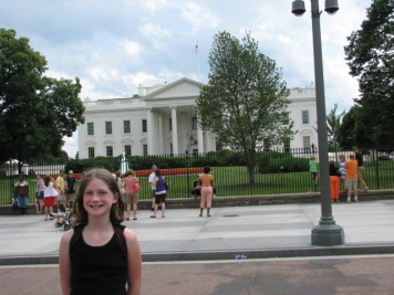 Me in Washington D.C. circa 2008. This was before my obsession with The West Wing.