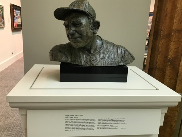 Baseball hero Yogi Berra. (Photo Credit: Riley Fink)