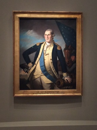 George Washington in his General's uniform. Photo credit: Jack Feldman