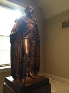 George Washington looking powerful and benevolent as ever. Photo credit: Jack Feldman