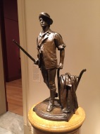 The Concord Minuteman of 1775 by Daniel Chester French. Photo credit: Jack Feldman